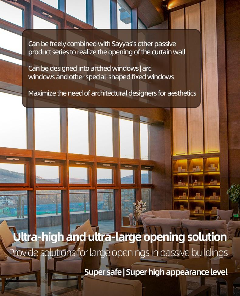 Sayyas Canopy High Window   Scw60