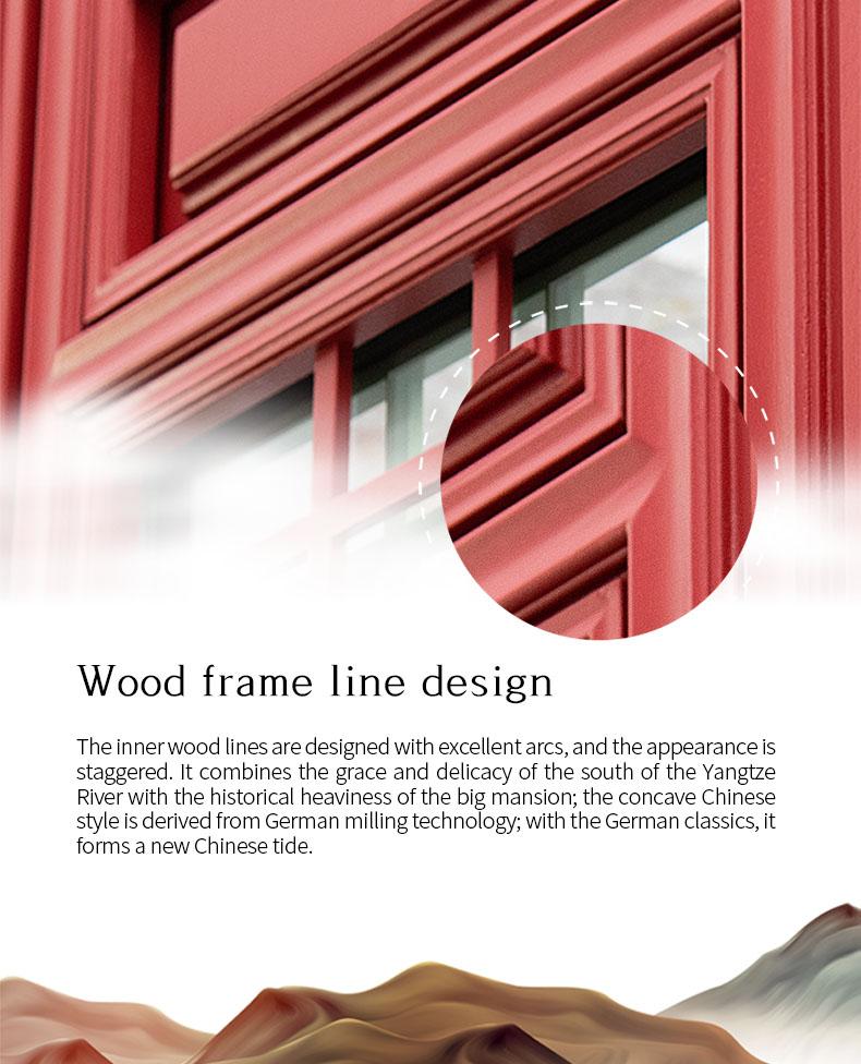 Sayyas New Tide Aluminum-clad Wood Air Conditioning Window | C95