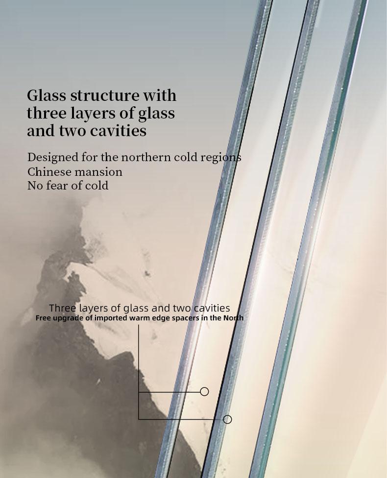 Sayyas New Tide Aluminum-clad Wood Air Conditioning Window | C90 Inward Opening Window