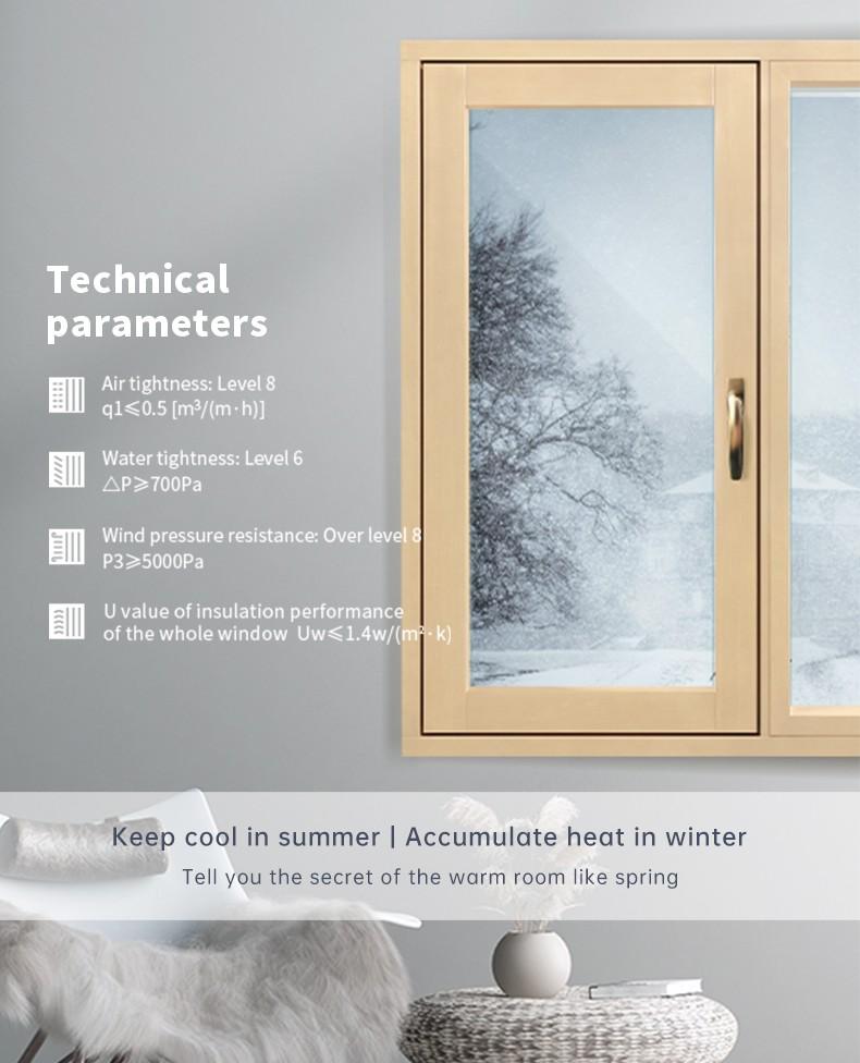Sayyas Aluminum-clad Wood Window   F120