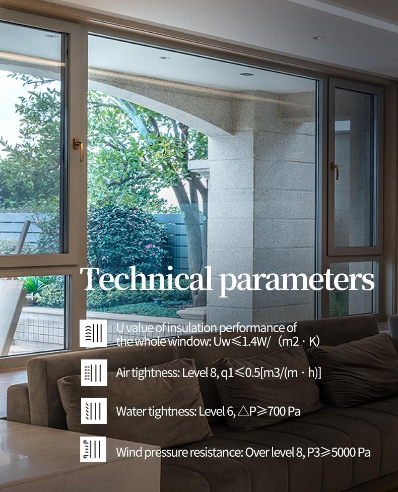 Sayyas Jiangnan Aluminum-clad Wood Air Conditioning Window   F86
