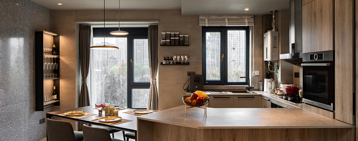 Sayyas Moon Appreciating Aluminum-clad Wood Air Conditioning Window | A86