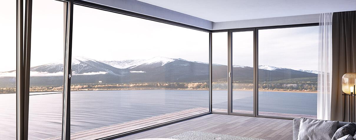 Sayyas Cool 8 Degree New Generation Aluminum-clad Wood Air Conditioning Window | x139
