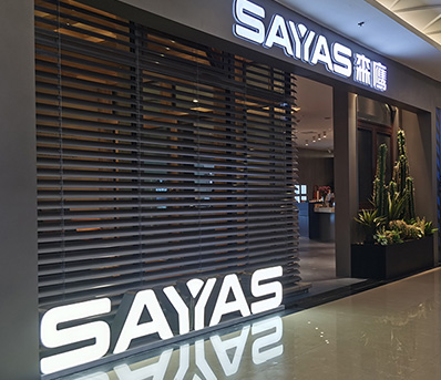 Sayyas Silver Plaza store in Jinan