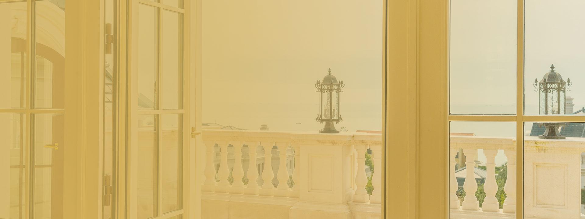 Classic Aluminum-clad Wood Air Conditioning Window